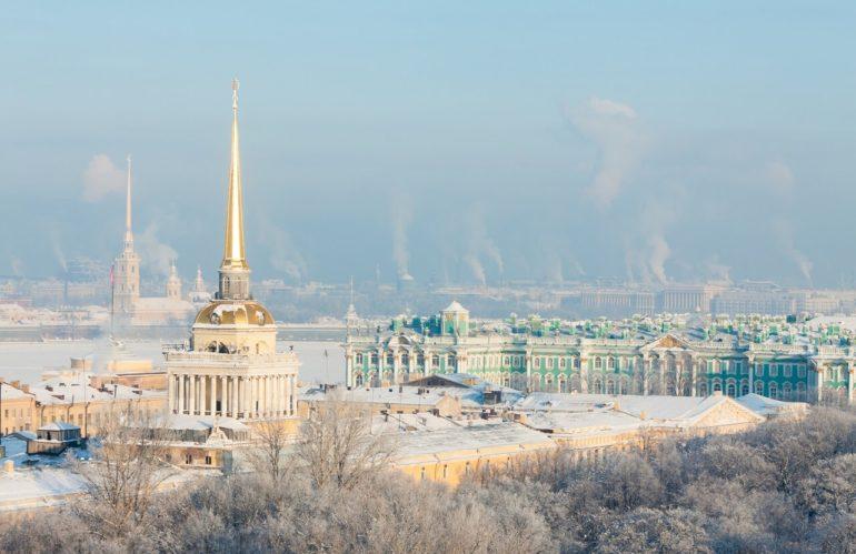 Чем заняться в Санкт-Петербурге зимой