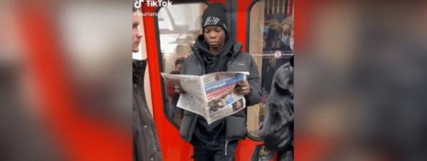 Студент из Африки объяснил, зачем лег под поезд в метро Петербурга